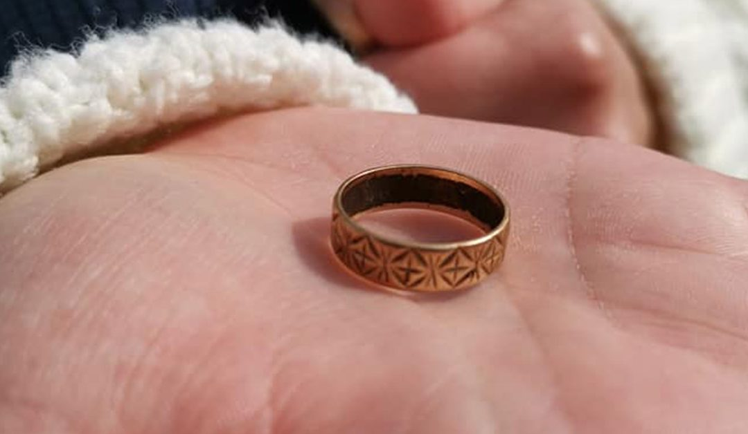 Granddaughter Reunited with Wedding Ring